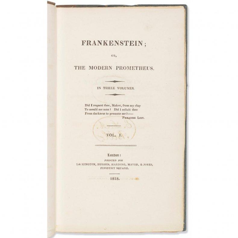 First Edition Frankenstein 2