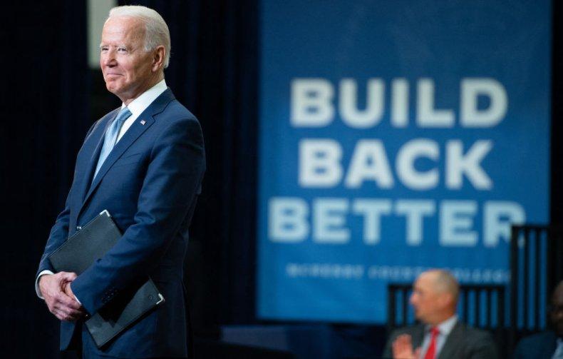 Joe Biden Build Back Better