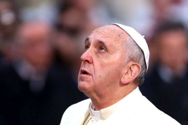 Pope Francis Celebrates Immaculate Conception at Spanish