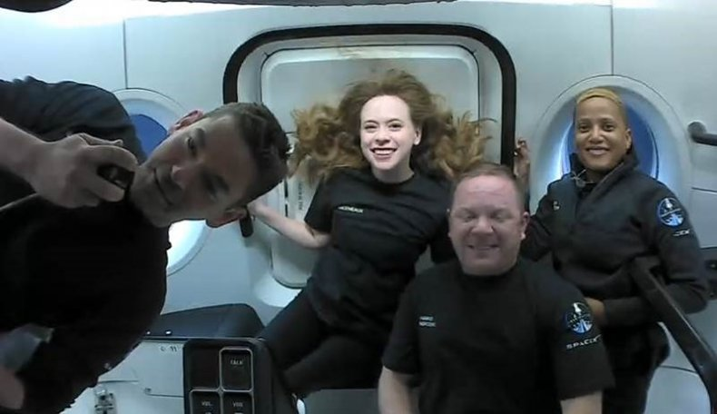 First Day in Space