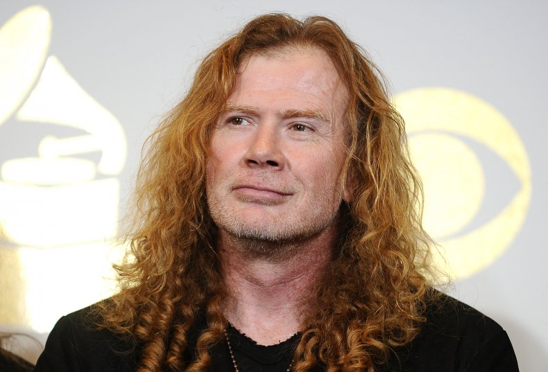 Megadeth frontman and guitarist Dave Mustaine.