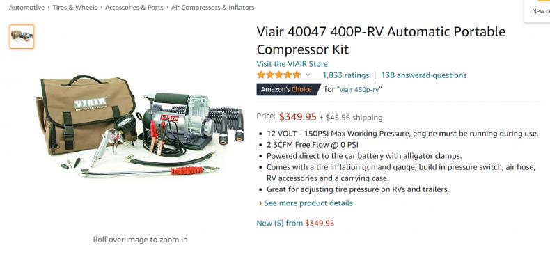 Wire automatic portable compressor kit.
