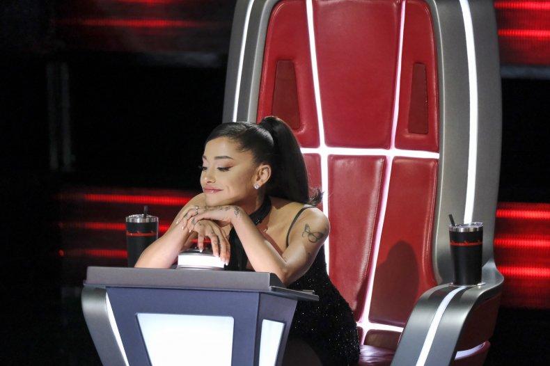 Ariana Grande The Voice