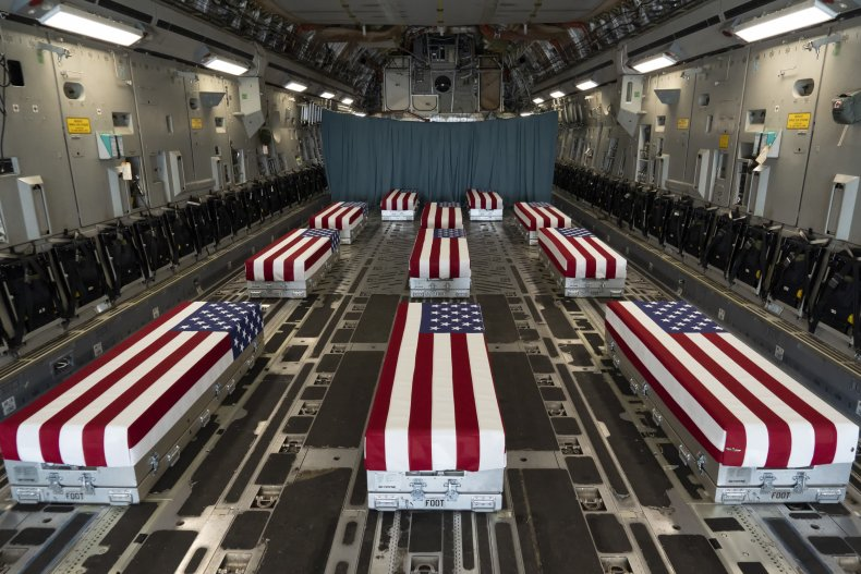 Remains of US troops killed in Kabul