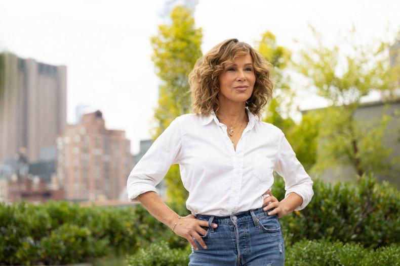 Jennifer Grey Flu Shot Fridays NY