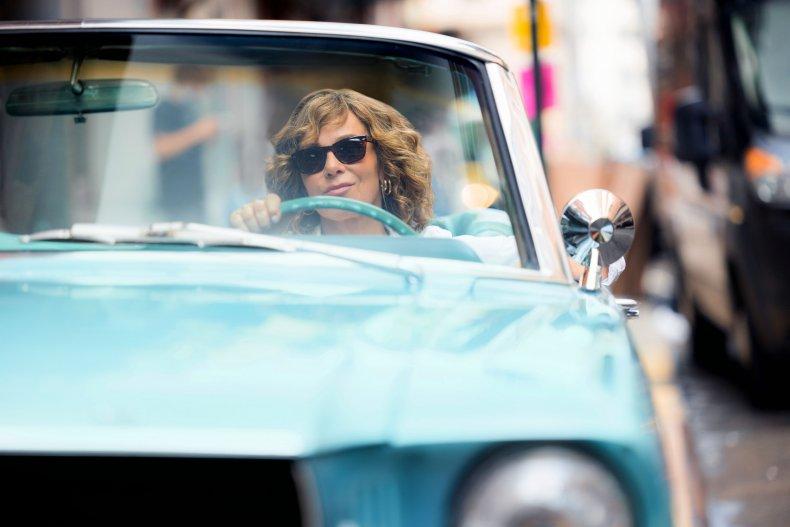Jennifer Grey Flu Shot Fridays Car