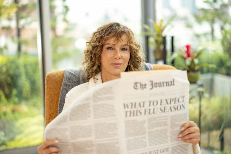 Jennifer Grey Flu Shot Fridays home