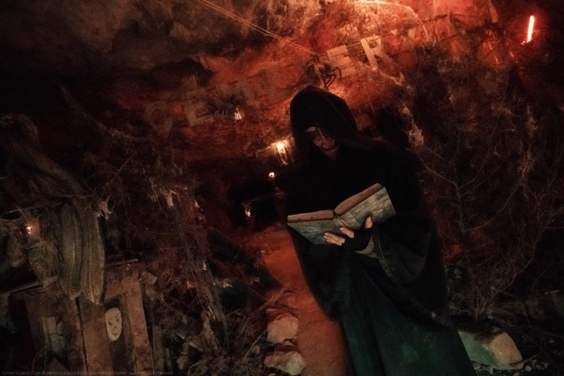 The Lewisburg Haunted Cave