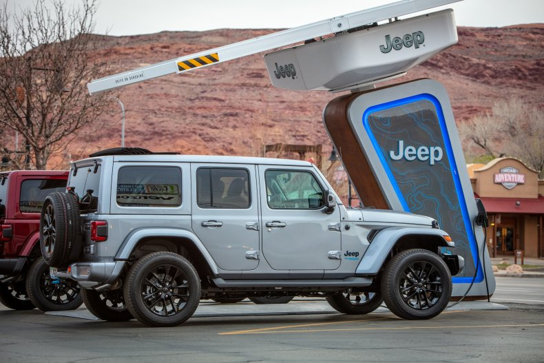 Jeep 4xe Charging Network Moab