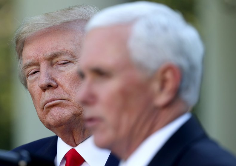 trump pence vice president wrong man