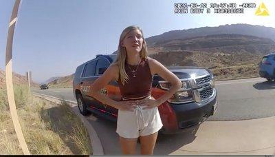 Gabby Petito body camera footage