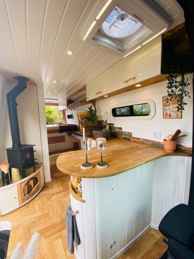 A Tiny Home Van Conversion
