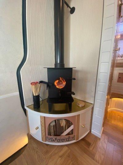 A Tiny Home Wood Burner