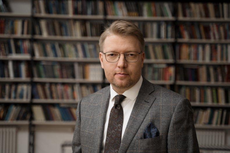 Yabloko leader Nikolai Ryabkov