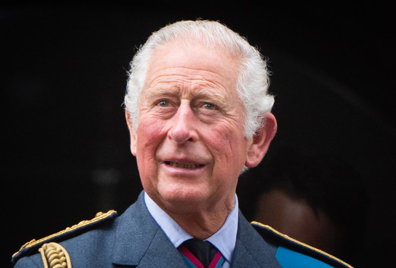 Prince Charles at Battle of Britain Service