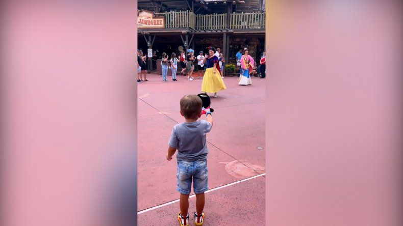 Little Boy's Adorable Reaction to Disney (VIDEO)