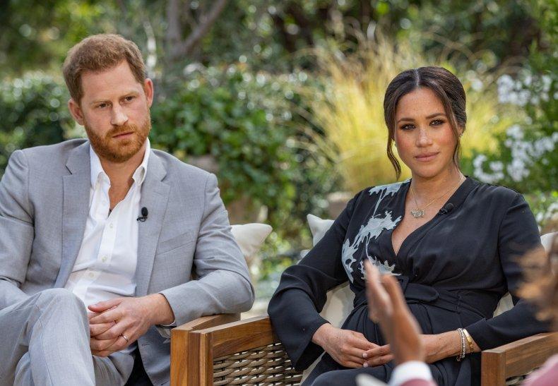 Prince Harry, Meghan Markle Talk to Oprah