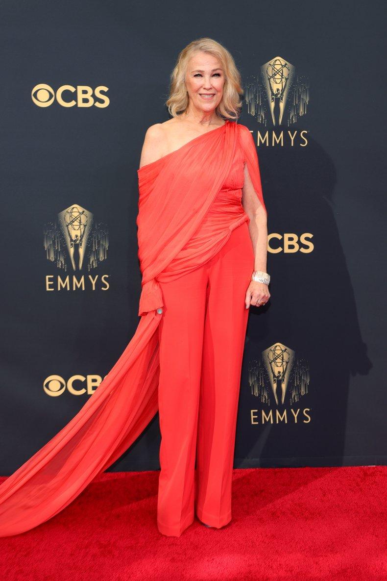 Catherine O'Hara at the 2021 Emmy Awards