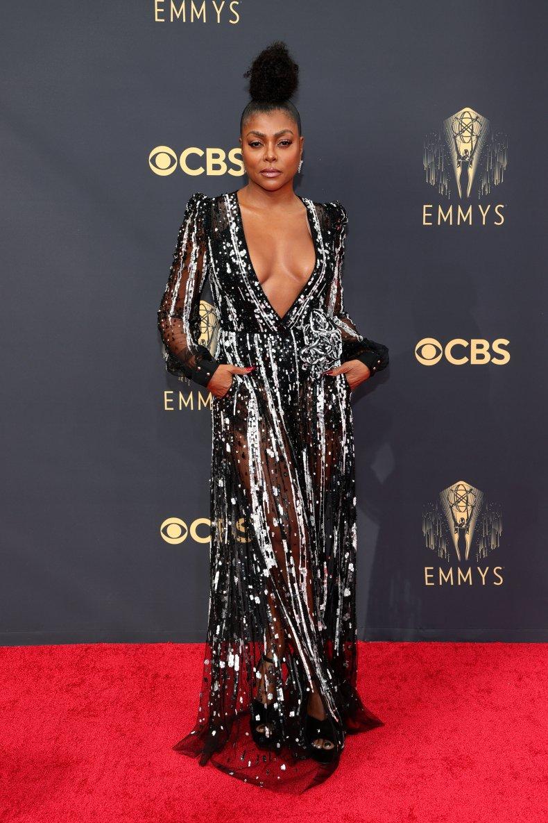 Taraji P. Henson at the Emmy Awards