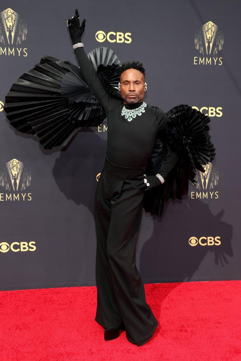 Billy Porter at the 2021 Emmy Awards