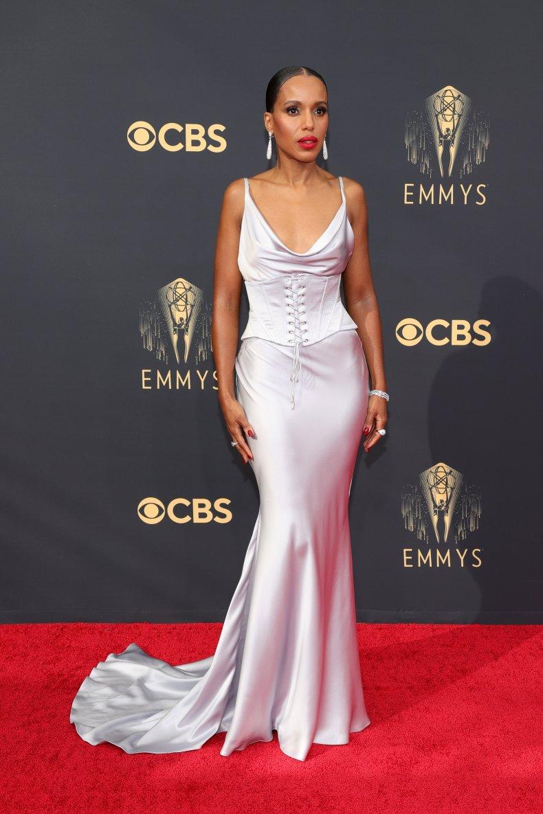 Kerry Washington at the 2021 Emmy Awards