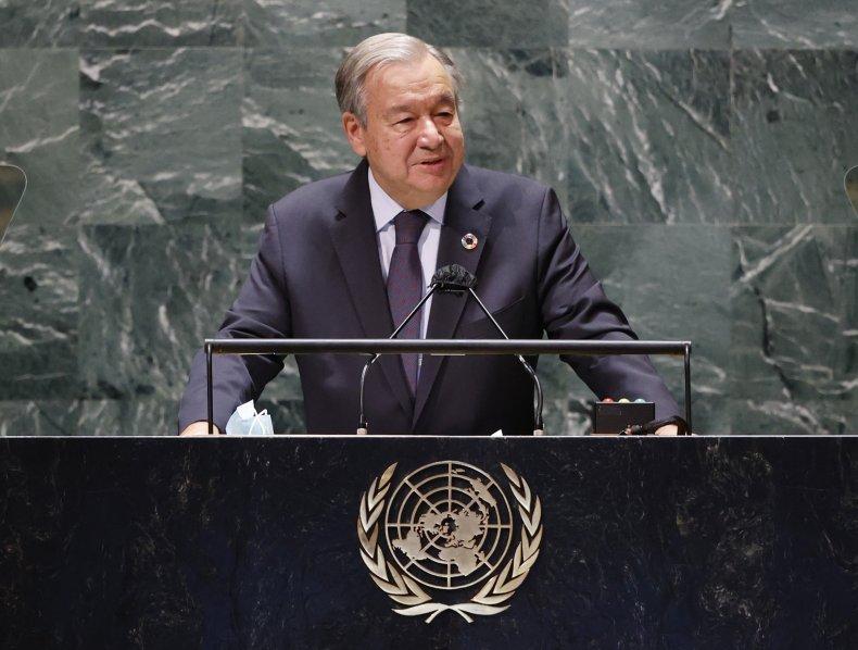 U.N. Head Gives Warning to U.S., China