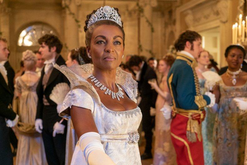 Lady Danbury appears in Netflix show 'Bridgerton'