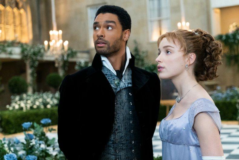 The Duke and Duchess of Hastings, 'Bridgerton'