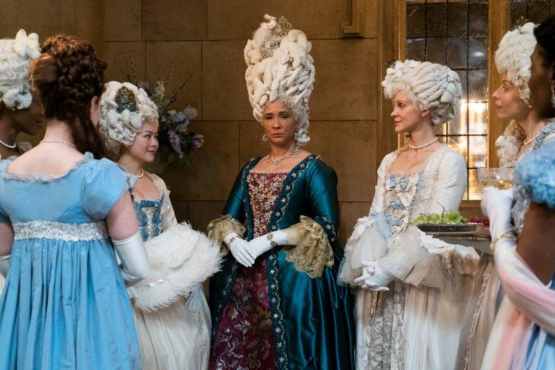 Queen Charlotte in Netflix's Bridgerton