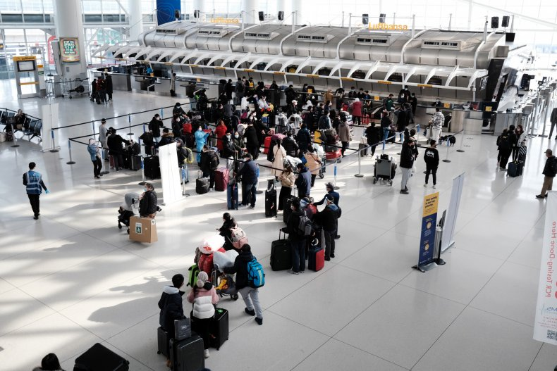 JFK Airport international travel rules relaxed