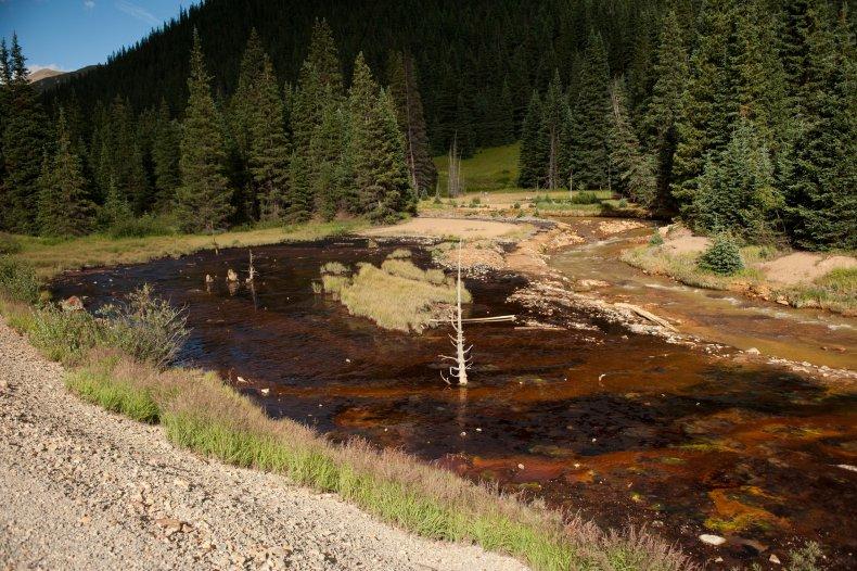 Mine Wastewater Pollution