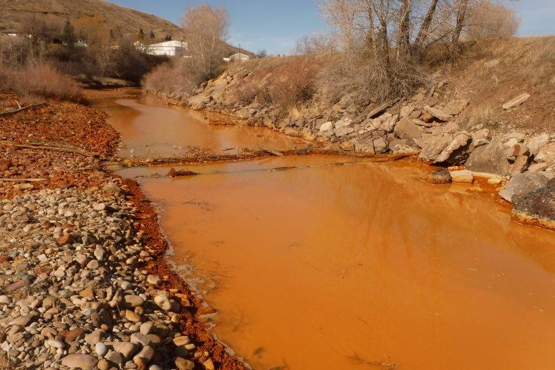 River Pollution Mine Runoff