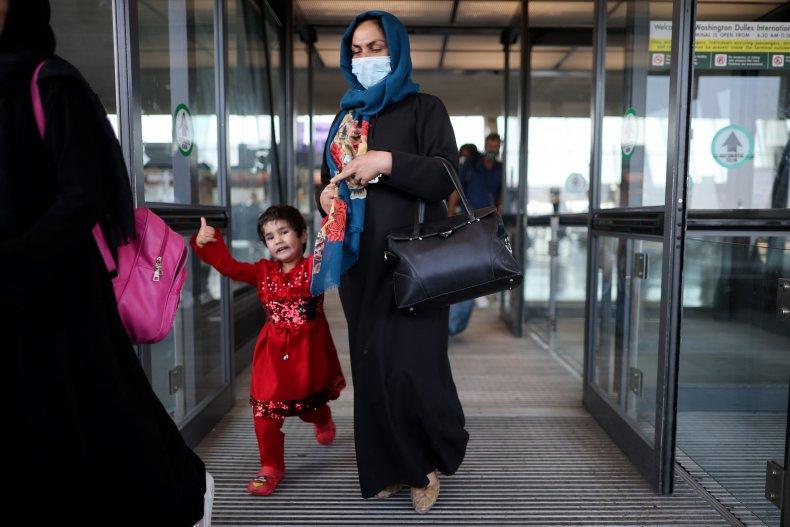 Afghans Arrive in U.S.