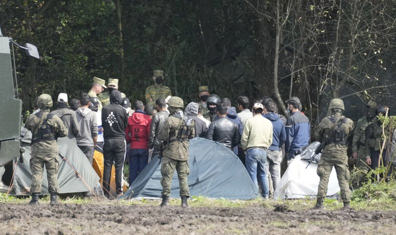 Migrants at Poland Border