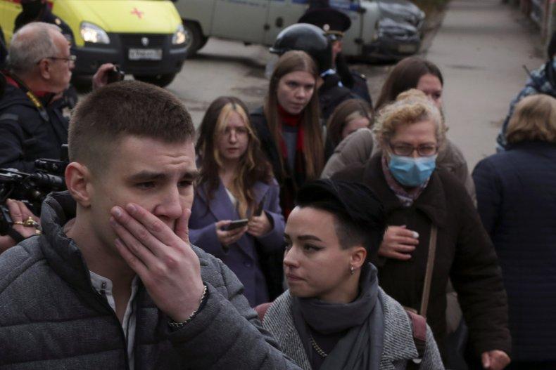 Russian University Shooting
