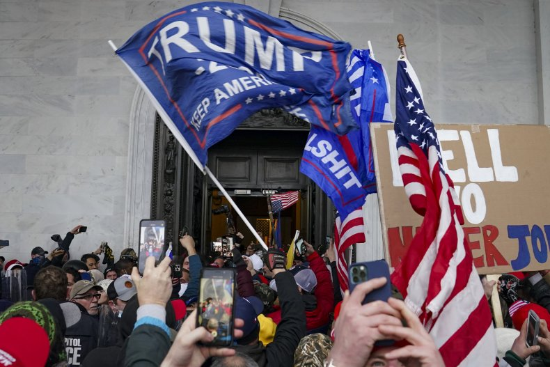 Rioters Storm Capitol