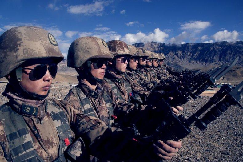China, Peoples, Liberation, Army, Xinjiang, Military, Region