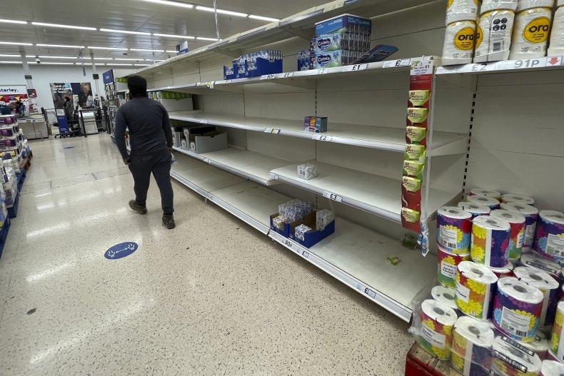 U.K. Food Shortages