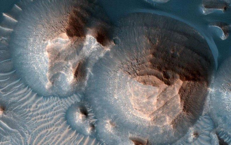 Arabia Terra on Mars