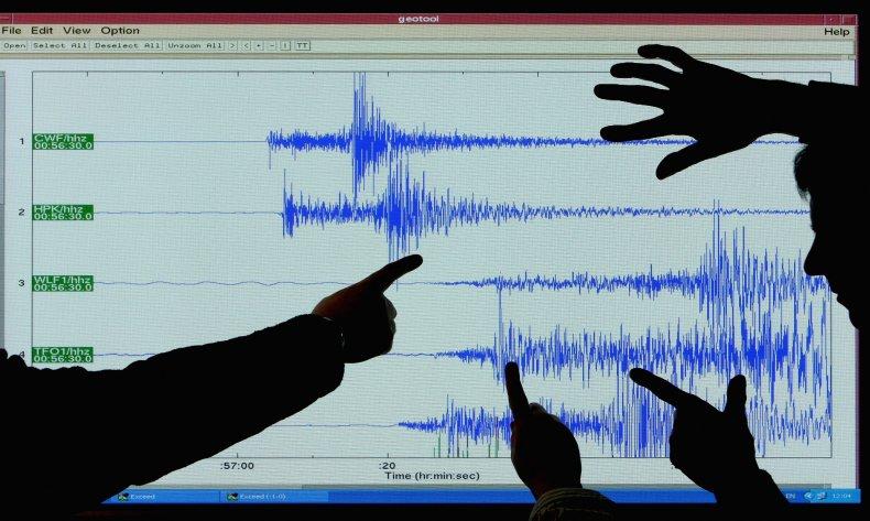 Australia earthquake magnitude Melbourne