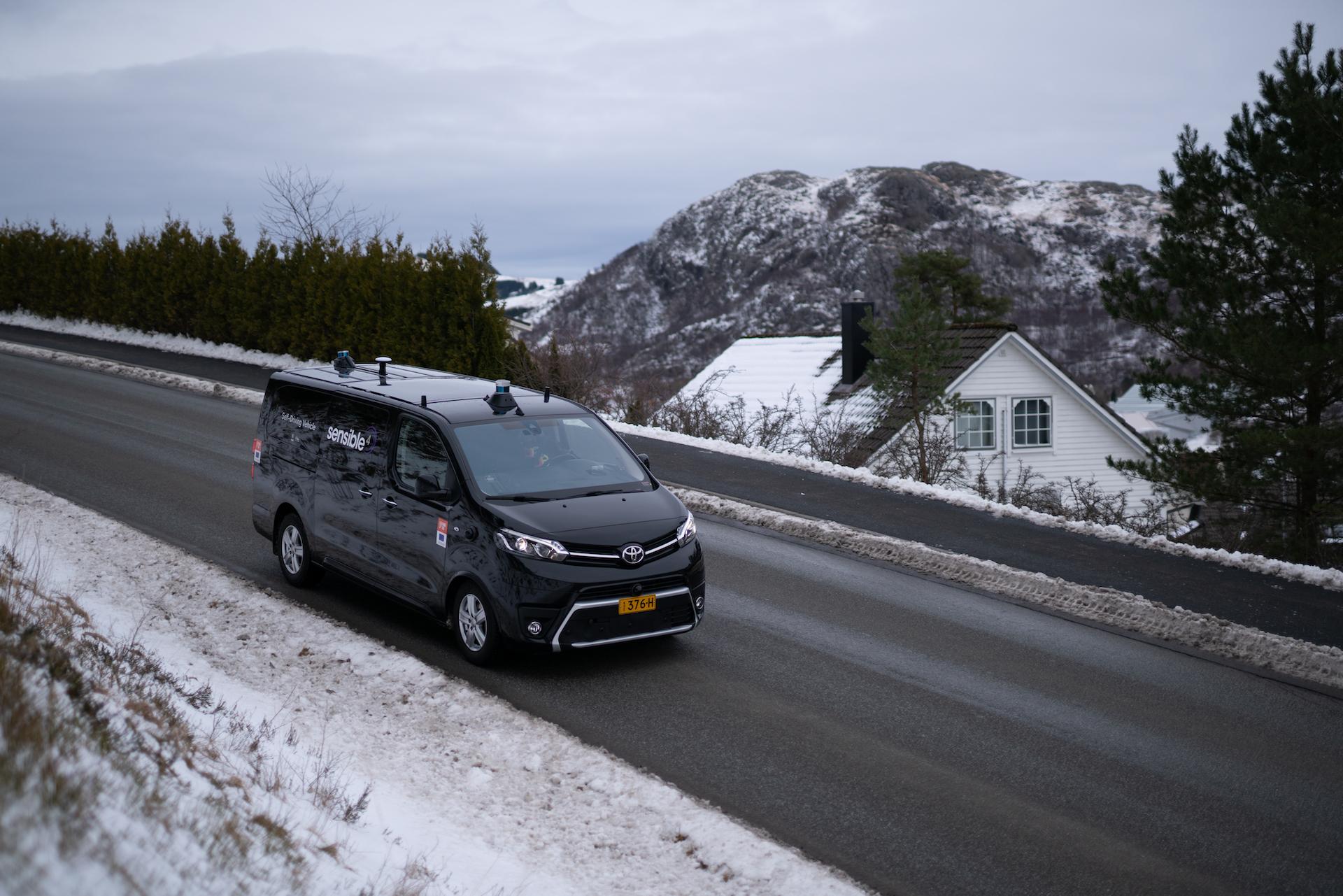 Autonomous Vehicles Arctic Circle