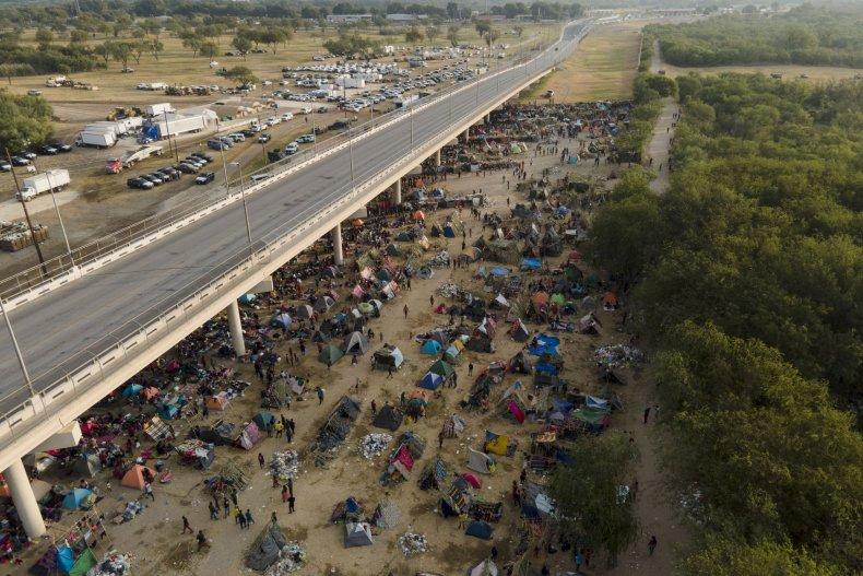 Haitian Migrant Encampment