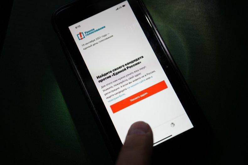 Russia Voting App
