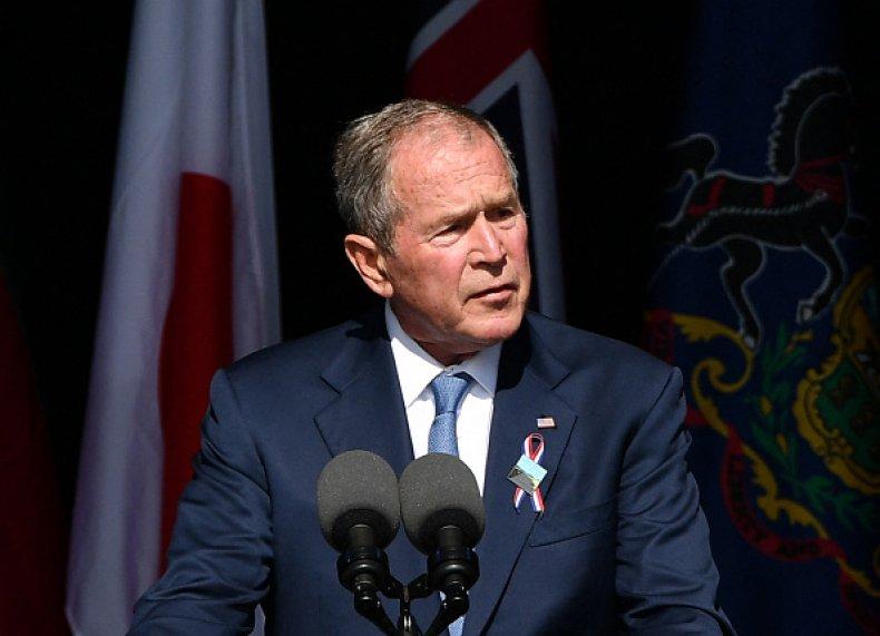 George W. Bush Liz Cheney Trump GOP
