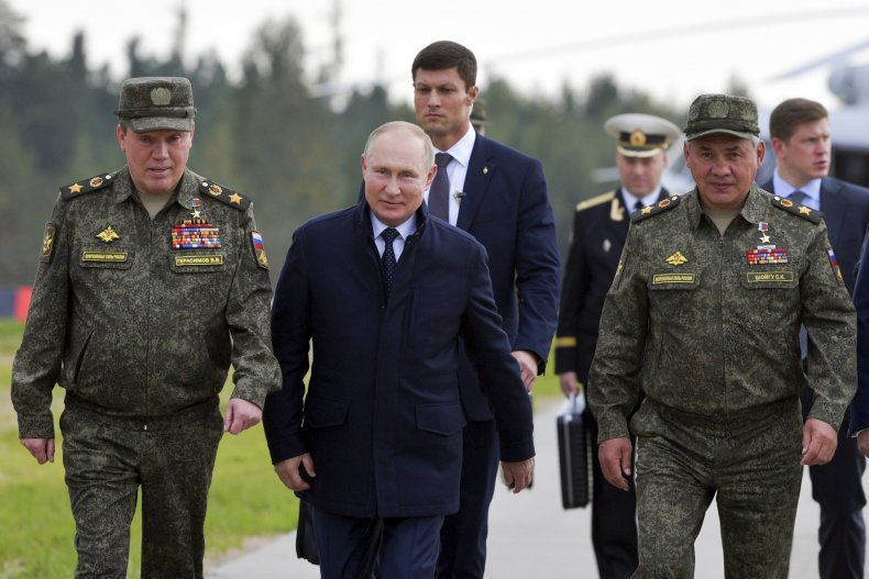 Russia Military Officials