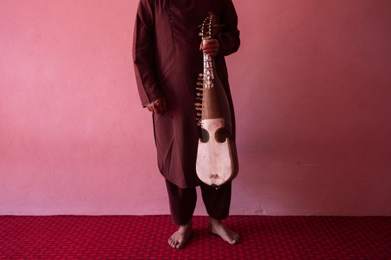 Afghanistan Music Ban