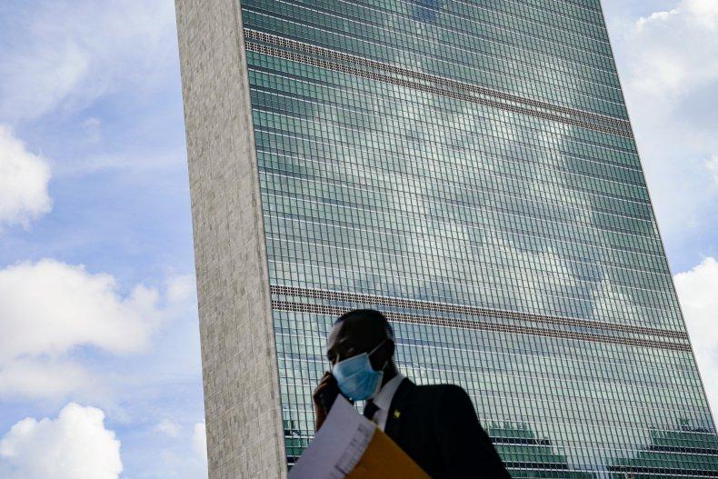 UN General Assembly Taliban