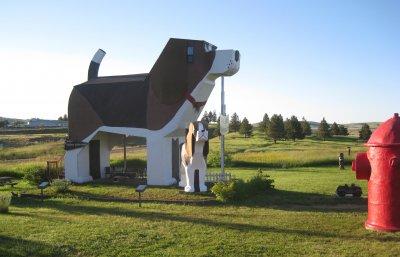 The Dog Bark Park Inn in Idaho