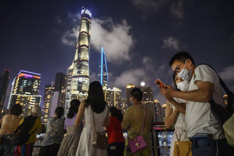 The Shanghai Tower.