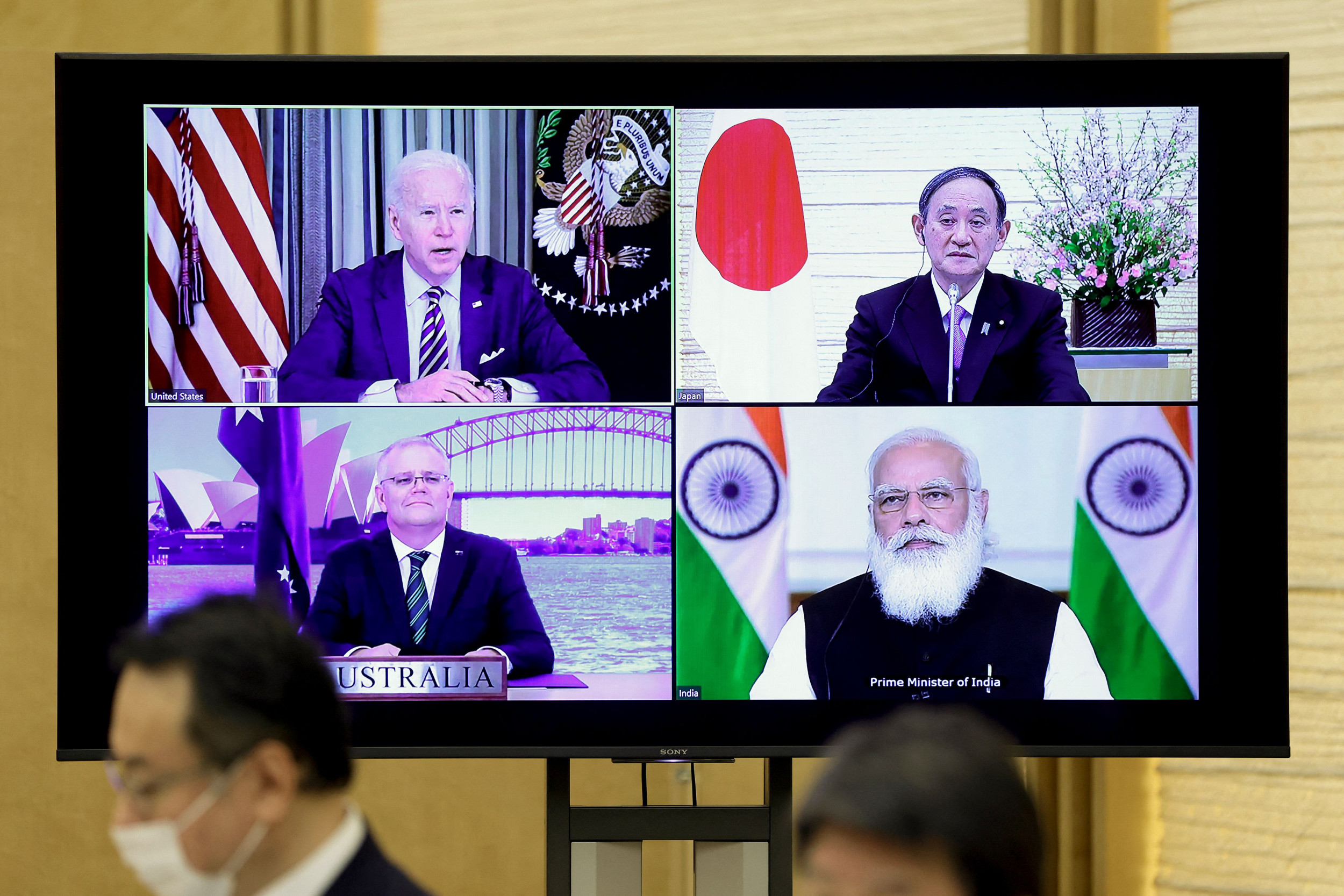 Image Joe Biden Brings China's Adversaries to White House in Major Asia Alliance